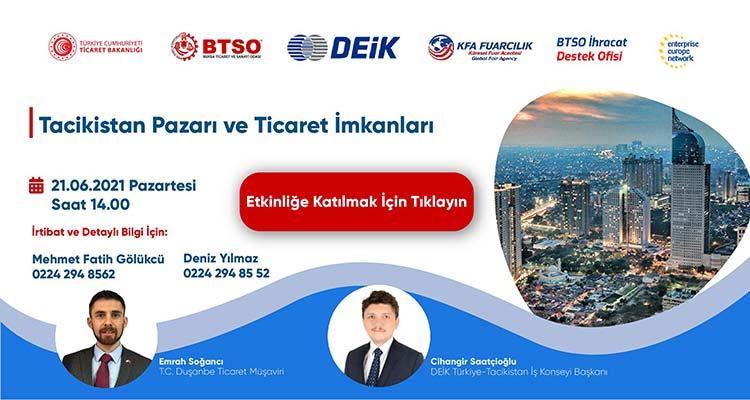 Tacikistan Pazarı ve Ticaret İmkanları