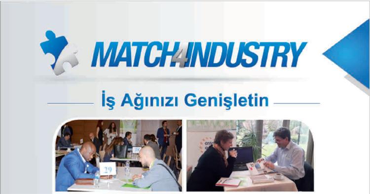 Match4Industry İkili İş Görüşmeleri Etkinliği  2 - 3 Kasım 2017