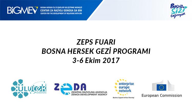 Destekli 3-6 Ekim Bosna Hersek ZEPS Fuarı ve İş Gezisi Programı