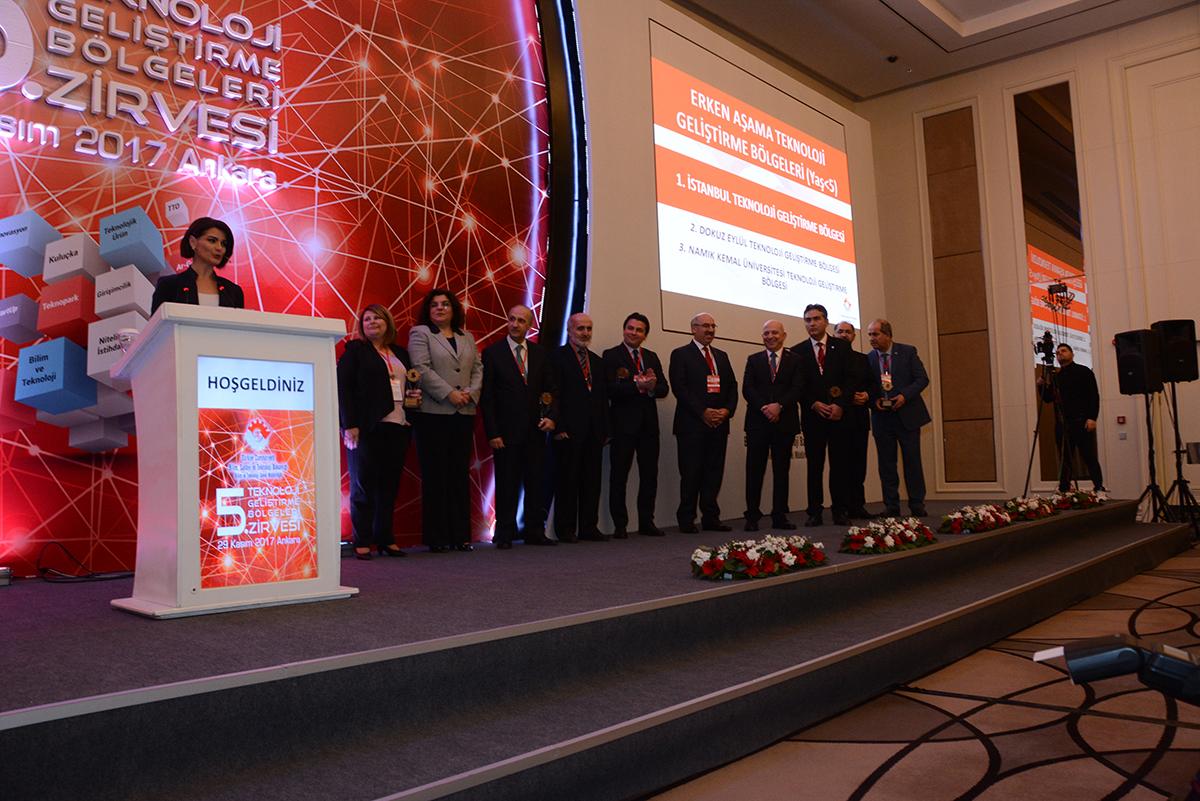 5. Teknoloji Geliştirme Bölgeleri Zirvesinde ULUTEK'e Ödül