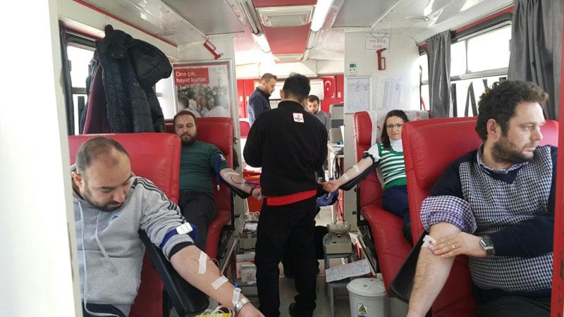 Ulutek A.Ş  Türk Kızılayı'nın Düzenlediği Kan Bağışı Kampanyası'na Destek Veriyor.
