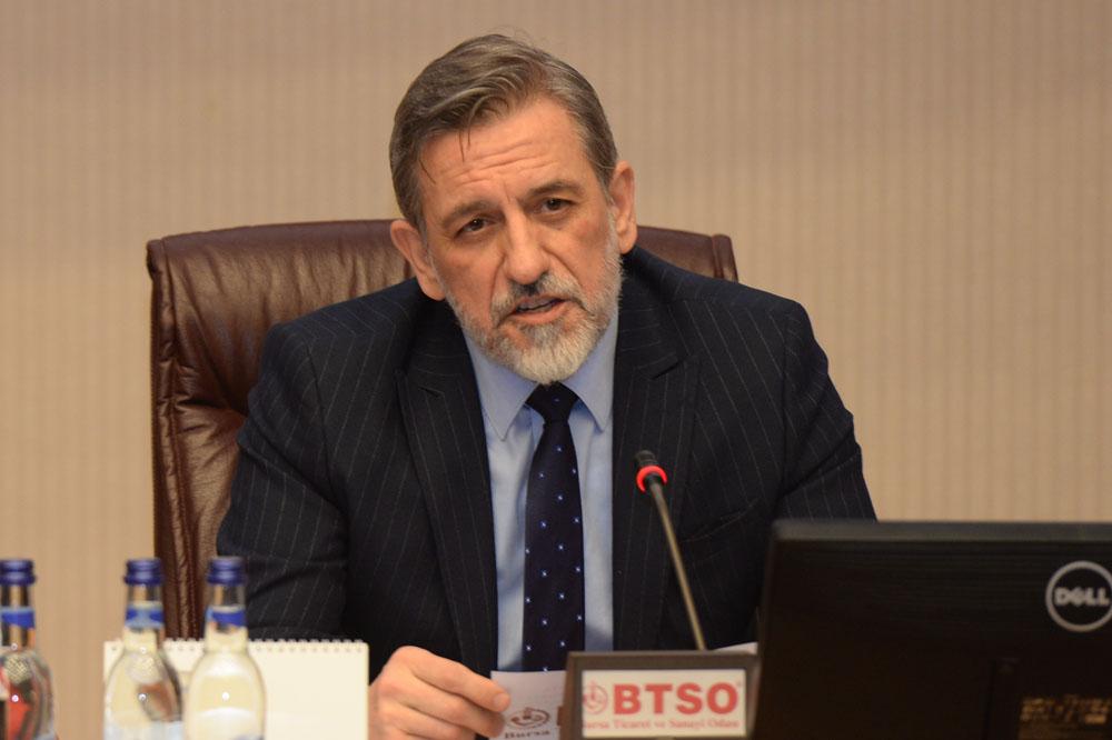 Bursa Ticaret ve Sanayi Odası (BTSO) Tarafından Düzenlenen '45. Ortak Akıl ve İstişare Toplantısı'na Katıldık.
