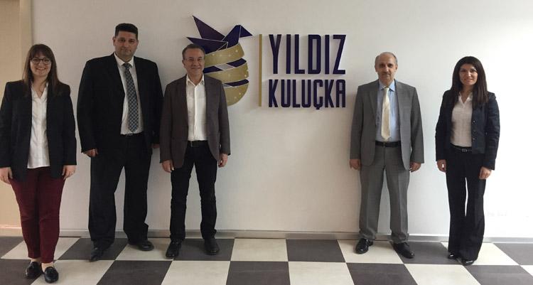 ULUTEK Teknopark yetkilileri ITU ARI ve YILDIZ Teknokent'i ziyaret etti.