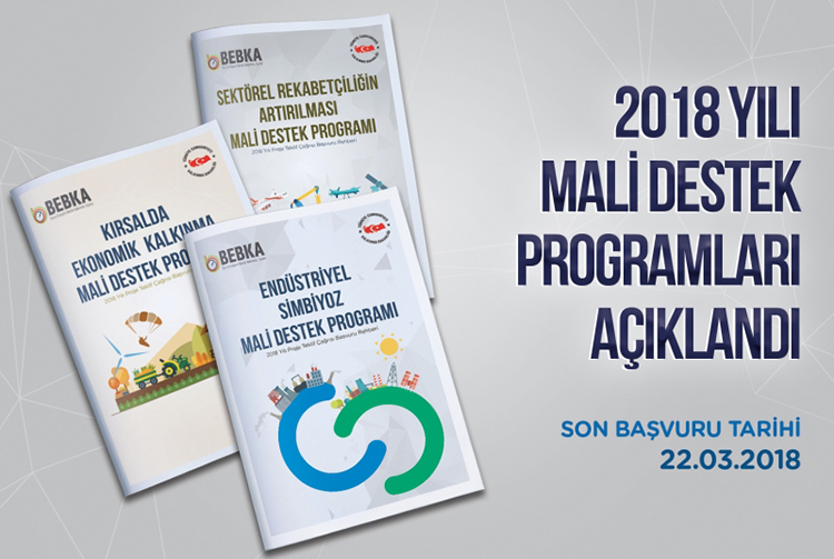 2018 Yılı Mali Destek Programları Açıklandı