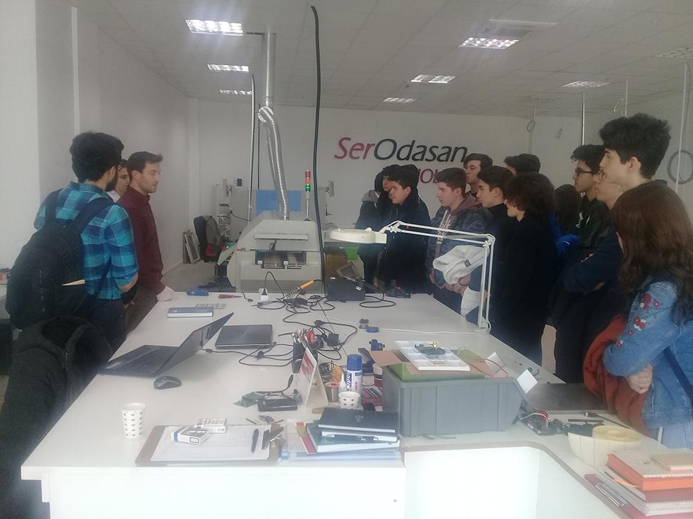 Sınav Koleji Öğrencilerinin Bölgemizi Ziyareti