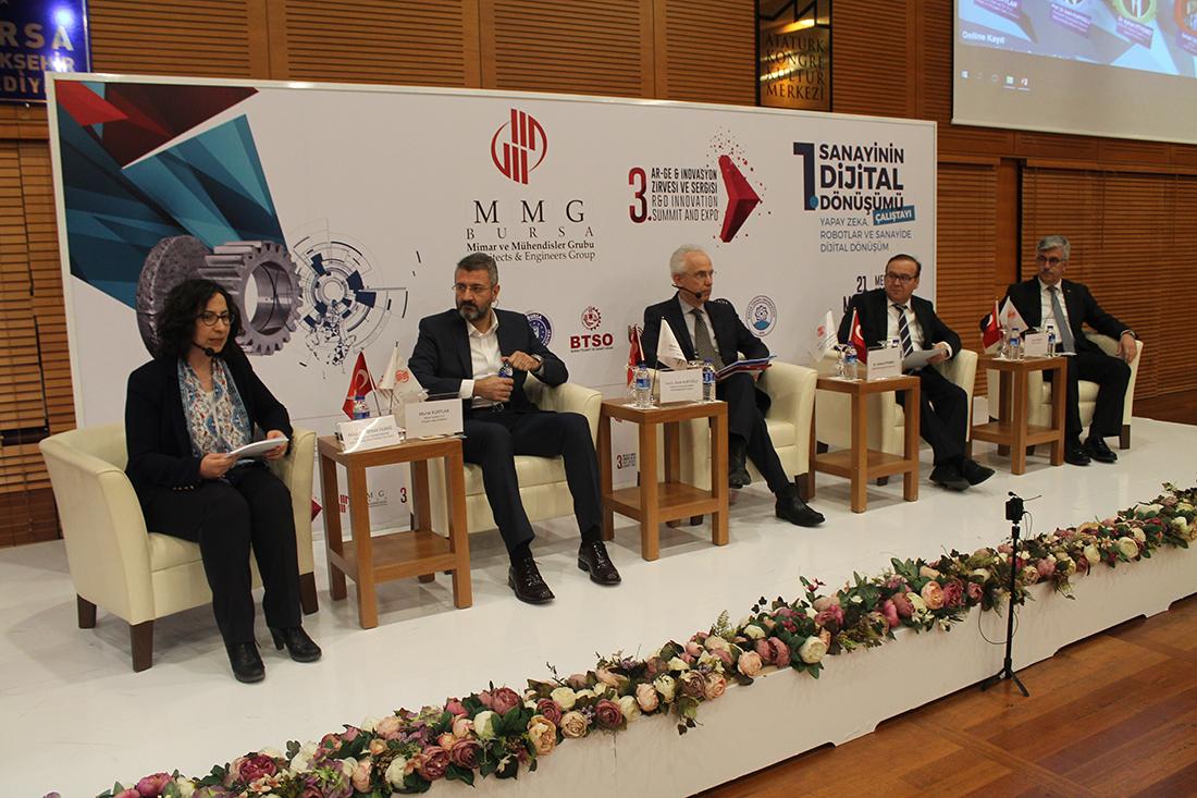 ULUTEK, 1. Sanayinin Dijital Dönüşümü Çalıştayı'nda