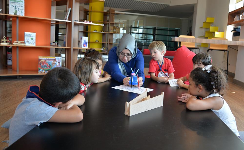 Maker Çocuk Yaz Programı başladı