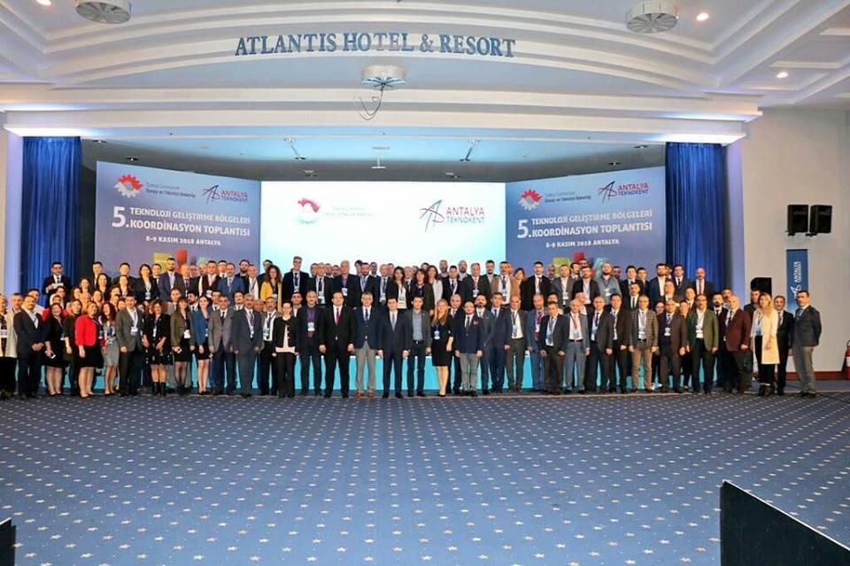 Teknoloji Geliştirme Bölgeleri 5.Koordinasyon Toplantısı'na Katıldık