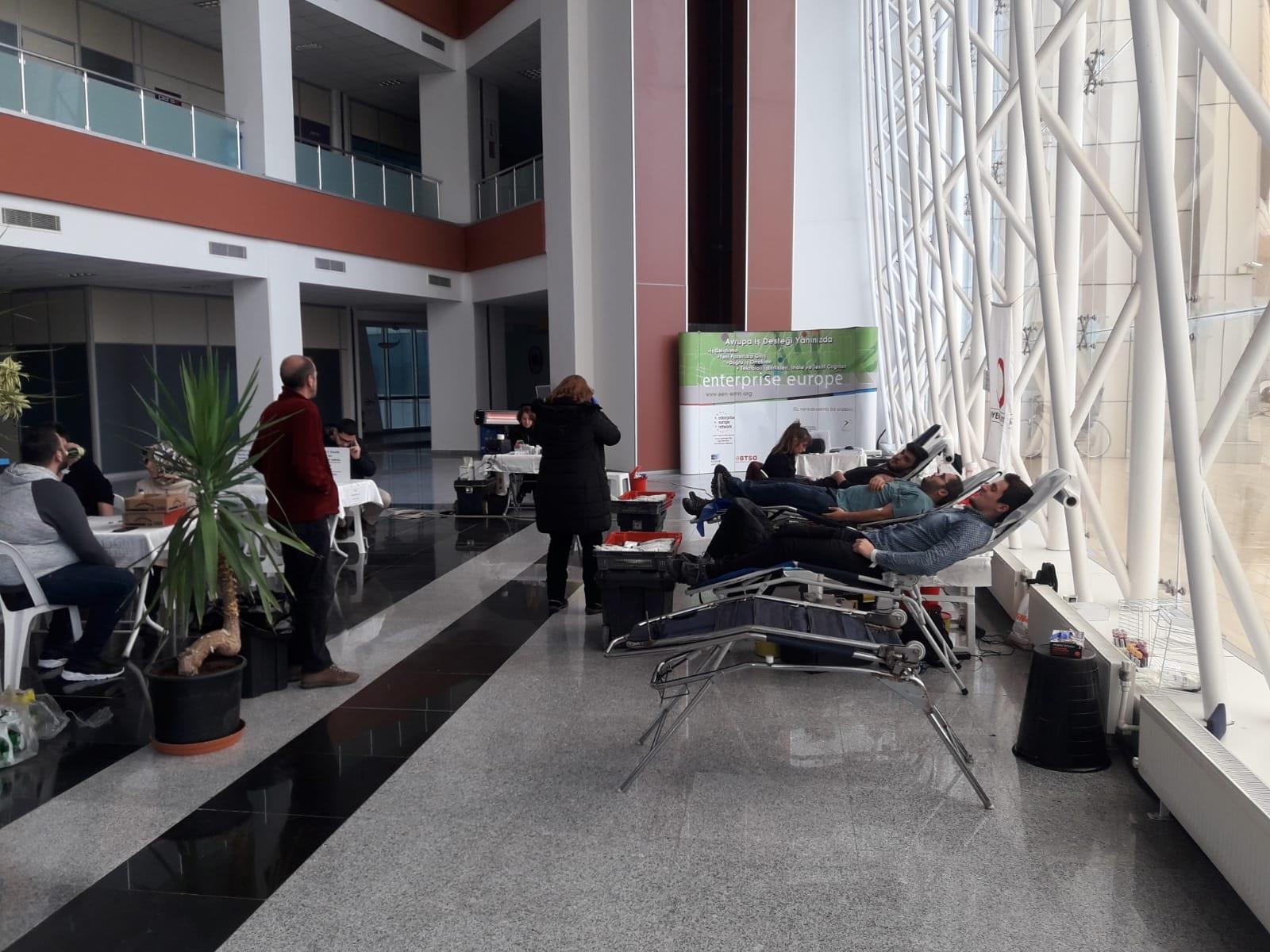 Ulutek'te Kan Bağışı Kampanyası