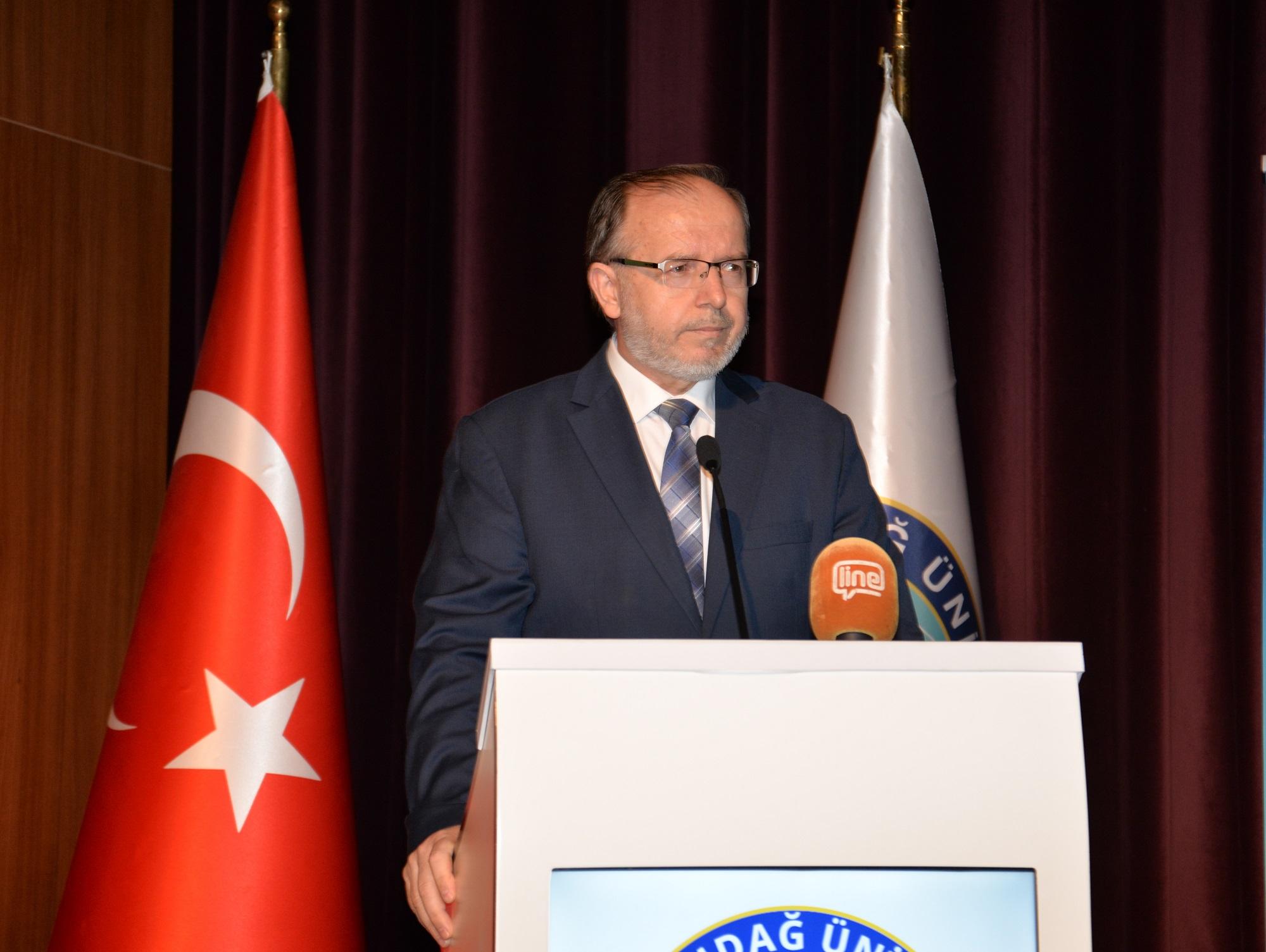 ULUTEK, BUÜ Prof. Dr. Fuat Sezgin 8. Bilgilendirme ve Ar-Ge Günlerine katıldı