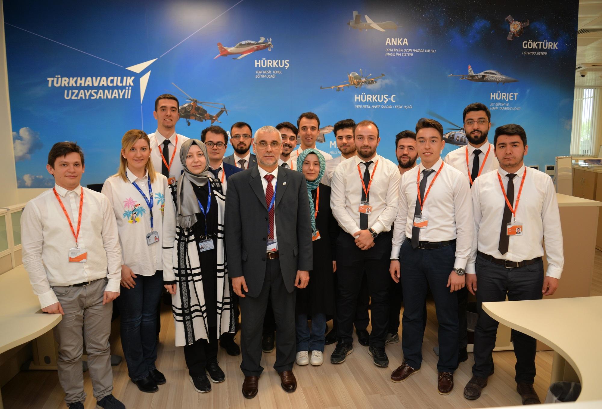 TUSAŞ'ın Stajyer Mühendisleri Cevheri İle Hedefi 12' den Vurmaya Hazırlanıyor